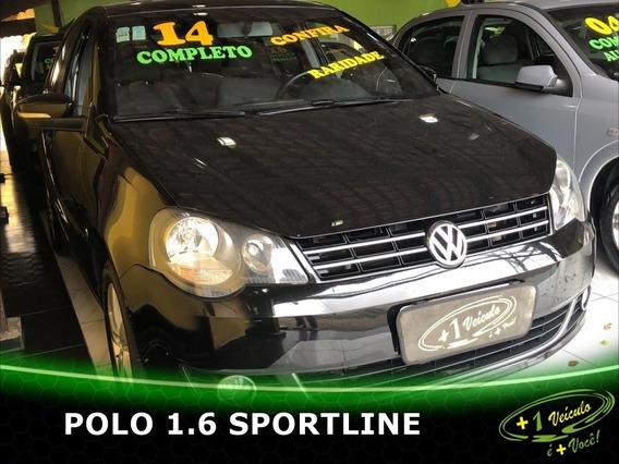 Volkswagen Polo Sportline 1.6 2014 Preto