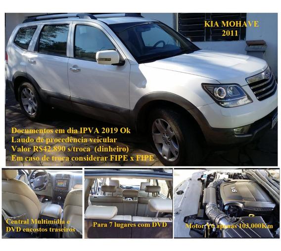 Kia Mohave 3.8 V6 Ex Aut. 5p 2011