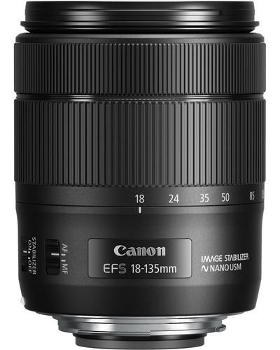 Lente Objetivo Canon Efs 18-135mm Usm
