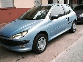 Peugeot 206 1.6 Xr Premium 2004 Celeste 3 Puertas Nafta