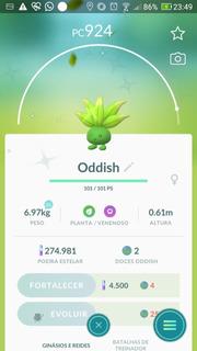 Oddish Shiny