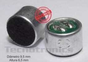 Microfone Eletreto Mini 2 Terminais 10 Unidades / 10 Reais