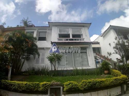 Casa De Vila À Venda, 3 Quartos, 1 Suíte, Santa Teresa - Rio De Janeiro/rj - 21637