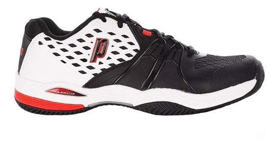 Zapatillas Prince Warrior Cc White/black/red