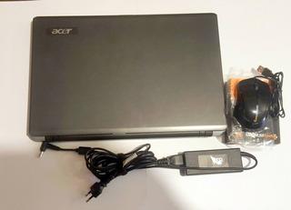 Notebook Acer Aspire 5534 Athlon 1.60ghz 3gb Ram Hdd 250gb
