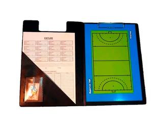 Pizarra Hockey Magnetica! Carpeta + Pizarra Doble + Fibron