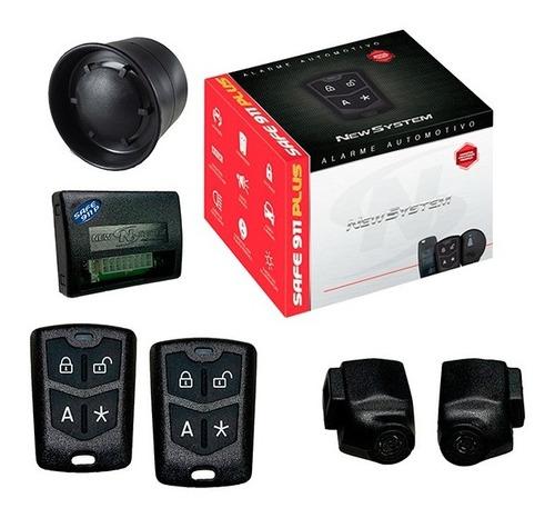 Alarme Automotivo Para Carro Safe 911 Plus - New System