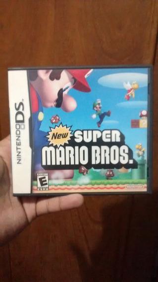 Caixa E Manual Apenas- New Super Mario Bros Nintendo Ds Leia