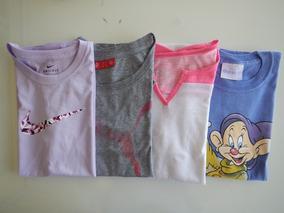 Lote Roupa Menina 14 16 Anos Pp Camiseta Importada Puma Nike