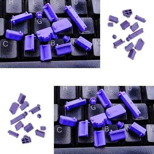 Tampas Anti Poeira Para Notebook Laptop 13 Peças Cor Roxo