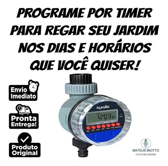 Temporizador De Água Válvula De Irrigação Por Timer Torneira