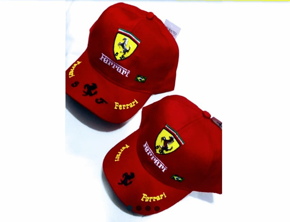 Bone Ferrari Kit 2pcs Adulto Con Criança Escolha A Cor