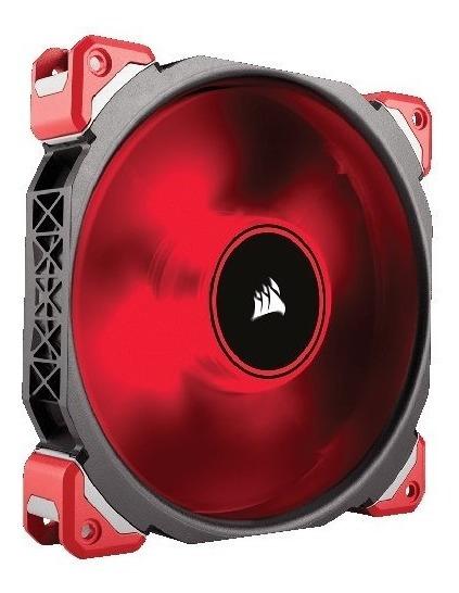 Fan Cooler Corsair Ml140 Pro Led, Red, 140mm Premium Magneti