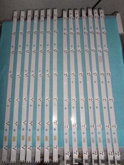 Kit Completo Barras De Led Tv Samsung Un55eh6030g