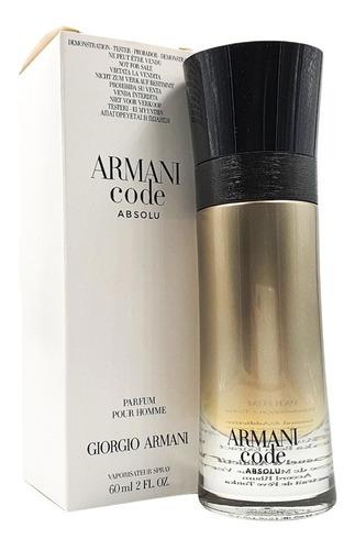 Imagen 1 de 1 de Armani Code Absolu Edp 60ml (tester) Giorgio Armani
