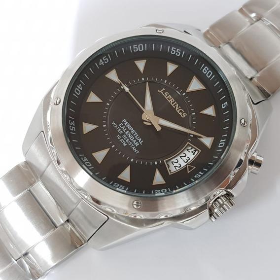 Relógio J.springs By Seiko Calendário Perpetual Bjc005