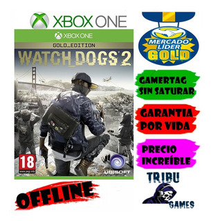 Watch Dogs 2oro/*xbox One*/ Offline