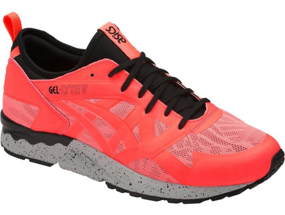 Tenis Asics Gel Lyte V Ns Hy7m1-0606 Flash Coral/flash Coral