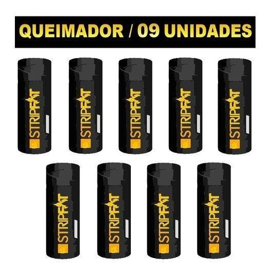 Kit Com 09 Unidades Thermo Gel Nanotech Stripfat