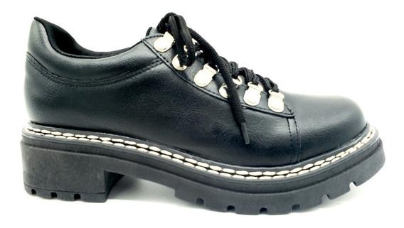 Zapato Acordonado Alpino Eco Cuero Savage Ms-60