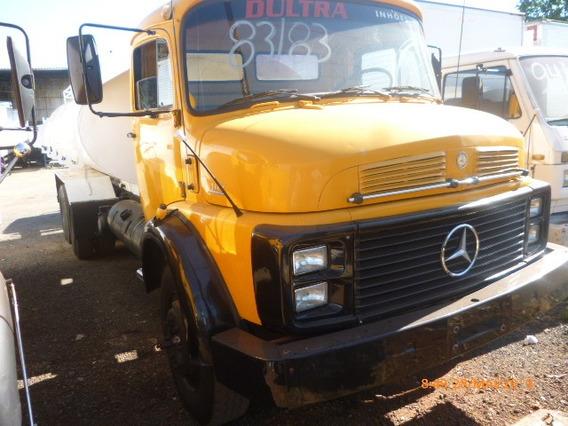 M B 1113 6x2 Ano 1983 Trucado Com Tanque 8000 Lt