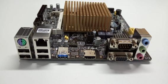 Placa Mae J1800i-c/br Asus P/ Celeron Dual Core Nova Pmus127