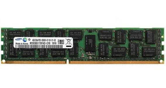Memoria Para Servidor 4gb Ddr3 1066 Mhz Samsung Pc3-8500r