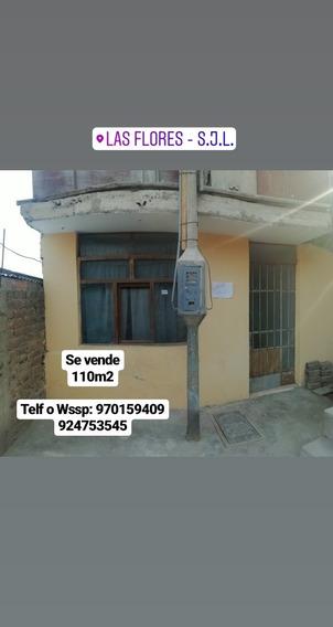 Ocasión - Se Vende Casa 2 Pisos, 110m2 En Sjl