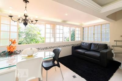 Casa Mobiliada Com 1 Dormitório E 1 Garagem - Id: 892917454 - 217454