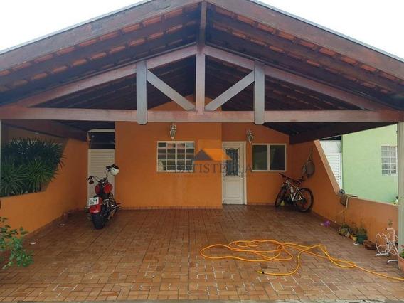 Casa Com 2 Dormitórios À Venda, 56 M² Por R$ 200.000 - Jardim Campo Belo - Limeira/sp - Ca0813