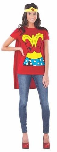 Disfraz Dc Comics Wonder Woman T-shirt With Cape