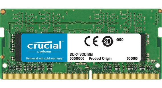 Memoria Sodimm 8gb Crucial Ddr4 2666mhz Notebook Cl19