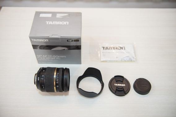 Lente Tamron 17-50 F2.8 Estabilizada (vc) - Nikon