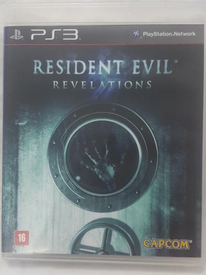Jogo Ps3 Resident Evil Revelations Original