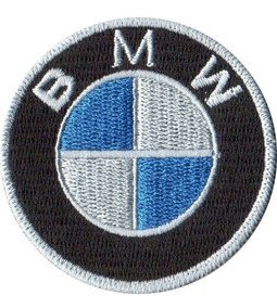 Patch Bordado Talysma P/ Camiseta Jaqueta Camisa Logo Bmw