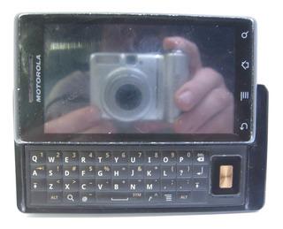 Celular Motorola Milestone A853 Ligando, Tela Ok, Touch Não Funciona, Está Pedindo Senha!