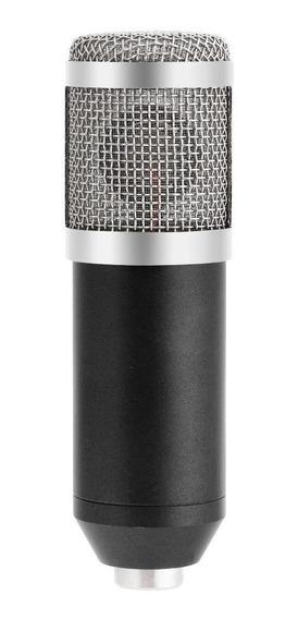 Bm800 Condensador Dinâmico Com Fio Microfone Som Estúdio