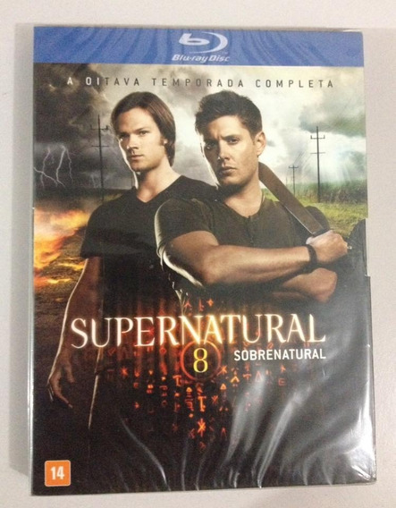 Supernatural Oitava Temporada Blu Ray (4 Dscos)