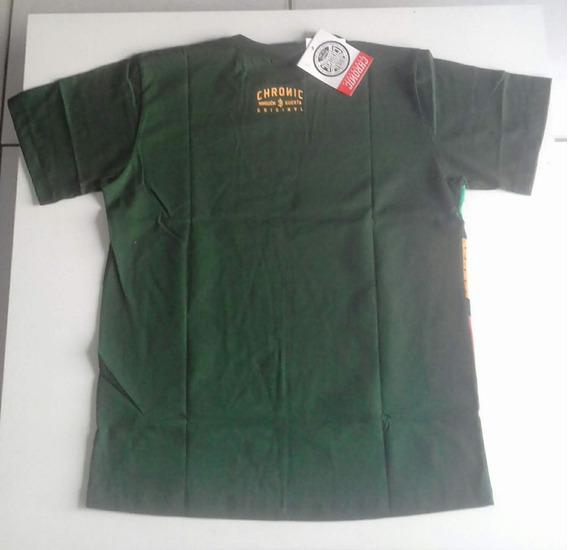 Camiseta Chronic Reggae Raio Original
