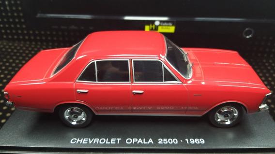 Chevrolet Opala 2500 - 1969 1-24 Carro Dos Sonhos - Salvat