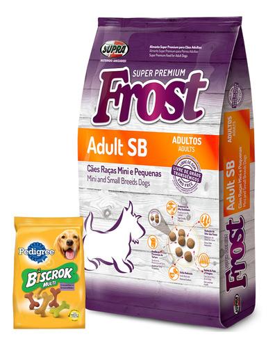 Imagen 1 de 5 de Frost Adulto Raza Pequeña 10,1 Kg + Snacks Biscrok!
