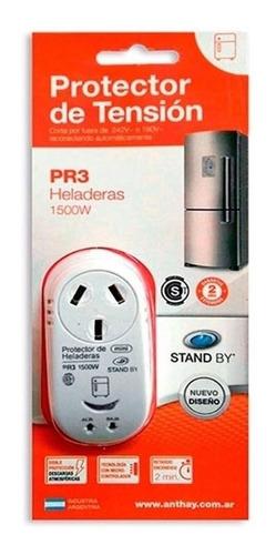Protector De Tension Heladeras Freezer Pr3 Stand By 1500w