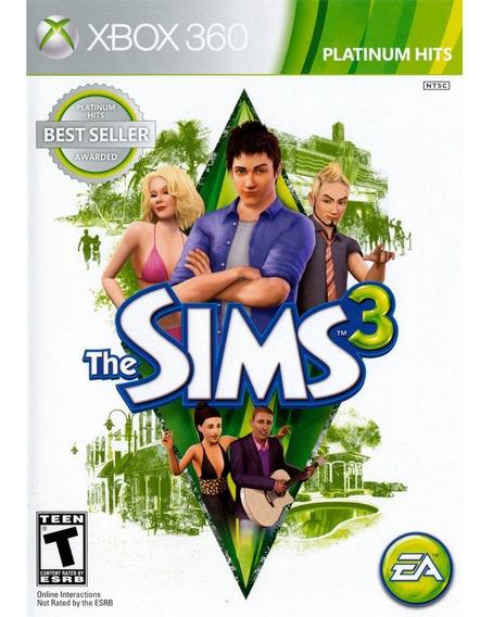 The Sims 3 Xbox 360 Mídia Física Lacrado