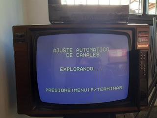 Tv Aurora Grundig Retro En Perfecto Estado Y Funcionamiento.