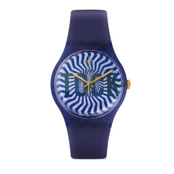 Para Caballero Reloj Swatch Ti-ock Suon119 Unisex-azul