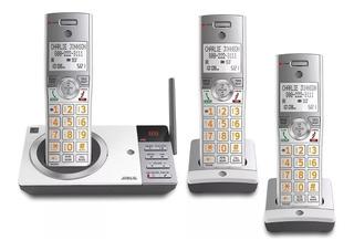 Telefone Sem Fio At&t 3 Handset System C/ 3 Bases