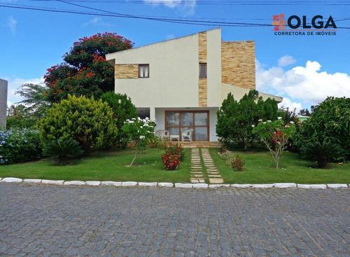 Imagem 1 de 30 de Linda Casa Em Condomínio De Luxo À Venda, Gravatá. - Vl0428