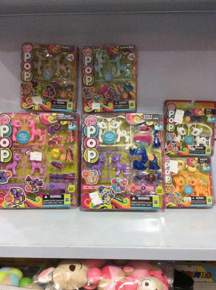 My Little Pony Super Combo Com 6 Cartelas