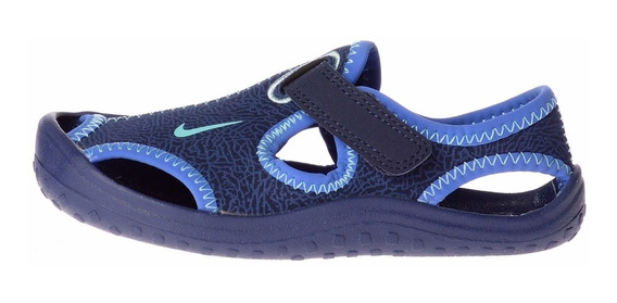 Nike Sunray Protect - Ojotas Para Bebés - Azul