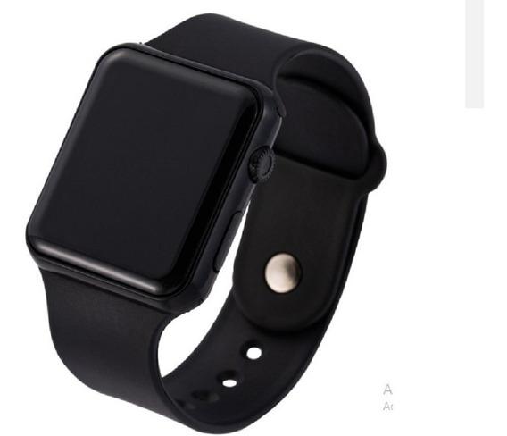 Relógio De Pulso Led Digital - Data&hora Fll